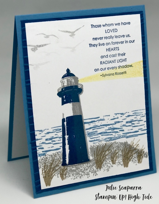 Stampin' Up! High Tide Sympathy Card