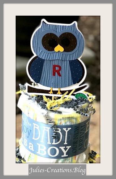 Owl Diaper Cake1