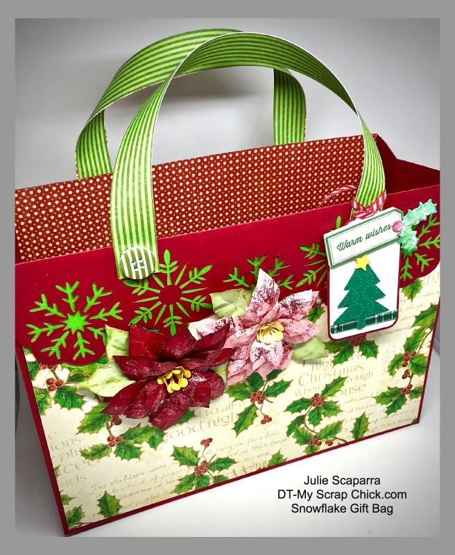 MSC-Snowflake Gift Bag